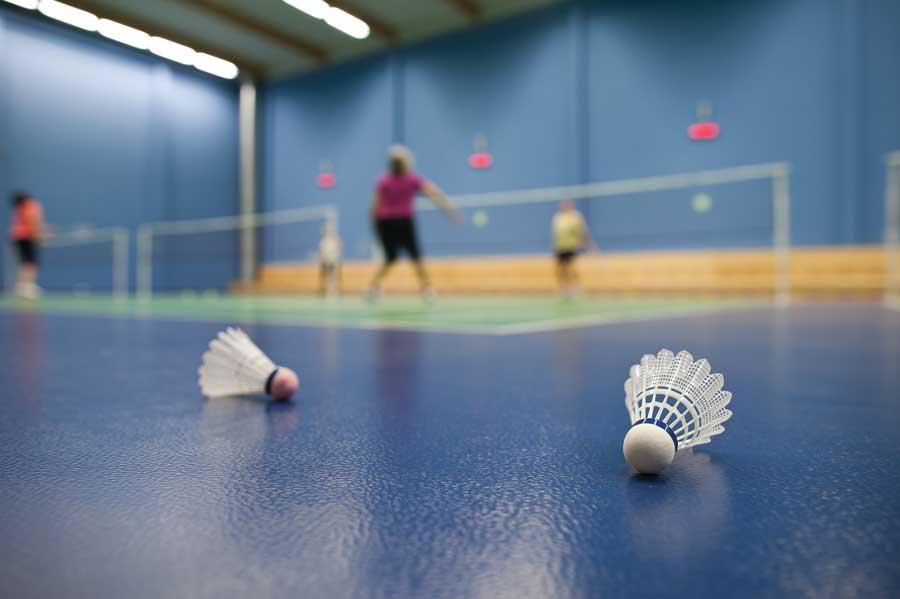 Indoor Badminton Courts