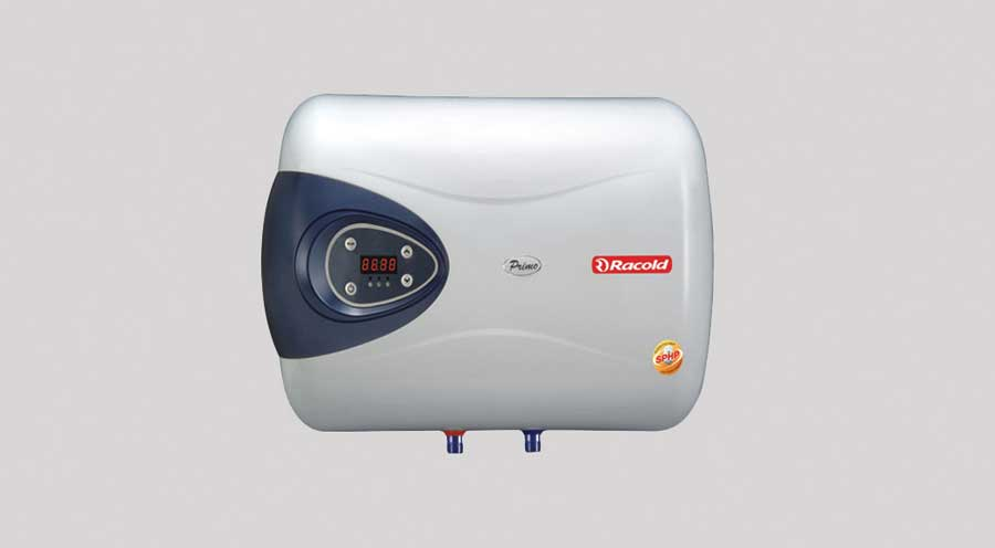 25 litre Geysers (water heater) of Racold or equivalent make in all bathrooms.