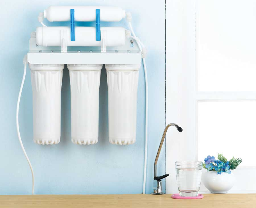 Provision for Water Purifier